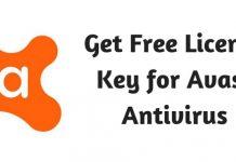Get Free License Key for Avast Antivirus