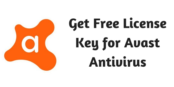 Get Free License Key for Avast Antivirus