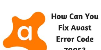 How Can You Fix Avast Error Code 7005