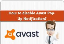 How to disable Avast Pop-Up Notification