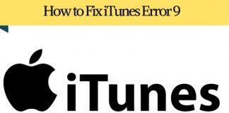 How to Fix iTunes Error 9